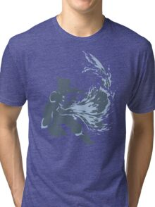 Minimalist Korra from Legend of Korra Tri-blend T-Shirt