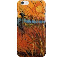 Vincent van Gogh, Willows at Sunset.  iPhone Case/Skin