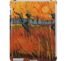 Vincent van Gogh, Willows at Sunset.  iPad Case/Skin