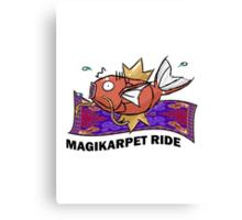 Magikarpet Ride Canvas Print