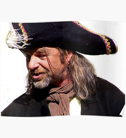 AHHHHHRER!!!!!!  Penzance Pirate Poster