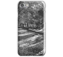 Black and White woods iPhone Case/Skin