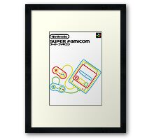 Super Famicom Framed Print