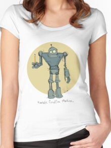 Humble Creative Machine Women's Fitted Scoop T-Shirt