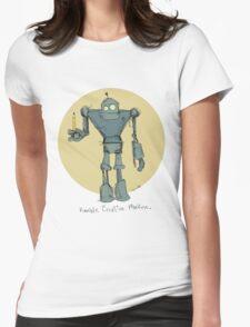 Humble Creative Machine Womens Fitted T-Shirt