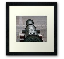 The canon Framed Print