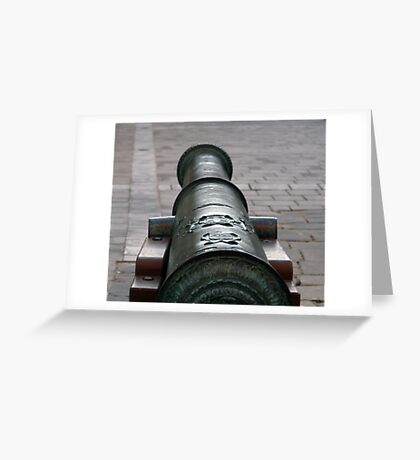 The canon Greeting Card