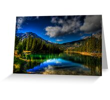 Alpine Oasis Greeting Card