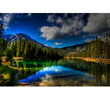 Alpine Oasis Photographic Print