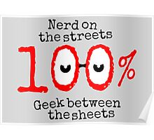 Nerd on the streets Poster