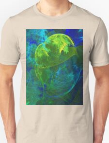 The Youthful Brain is like a Tree and Requires Nourishment and Light To Grow | Fractal Starscape T-Shirt