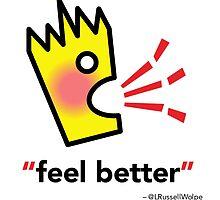 Croakey - Feel Better V2 by rocklilydesign