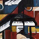 Abstract Piano by Trisha Lamoreaux