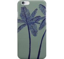 """Warhol Inspired Palm Trees 3"" iPhone Case/Skin"