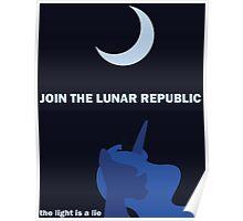 Lunar Republic Recruitment Poster