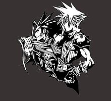 Final Fantasy VII Heroes by KumaGenis