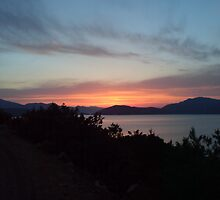 Greek sunset by dickie130184