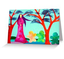 The Story Teller Greeting Card