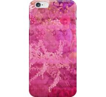 Breast Cancer Flowers iPhone Case/Skin