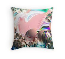 Attracttion To The Light Throw Pillow