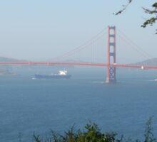 SAN FRANCISCO BRIDGE SITE Sticker