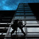 Window Washer by Michael J Armijo