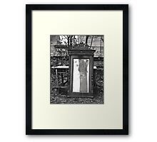 Natural vanity.  Framed Print