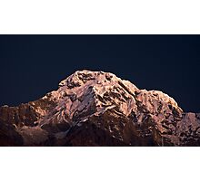 Annapurna Alpenglow Photographic Print
