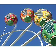 Ferris Wheel in the Sky Photographic Print