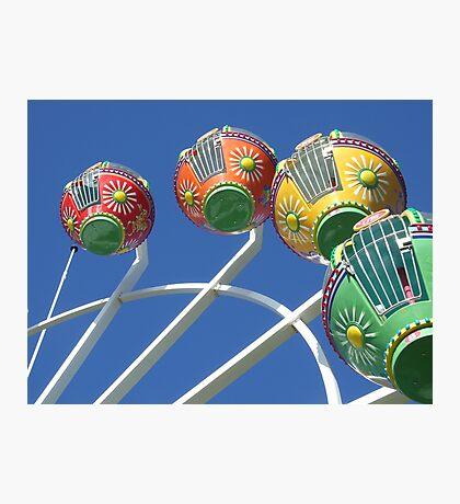Ferris Wheel in the Sky Photographic Print