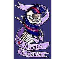Magic 'Til Death MLP Twilight Photographic Print