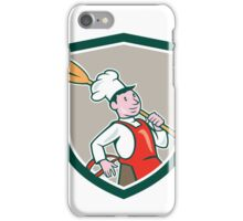 Chef Cook Marching Spoon Shield Cartoon iPhone Case/Skin