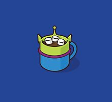 Little Green Alien Hot Cocoa by jacobparr
