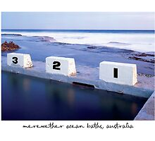 1,2,3, Merewether Ocean Baths, Newcastle - Australia by Paul Foley