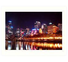 Southbank Melbourne Australia Art Print