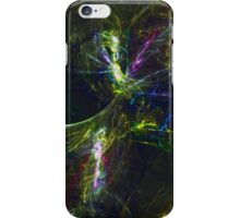 Breaking Into Alternate Physical Realities Through Neural Firing Patterns | Fractal Starscape iPhone Case/Skin