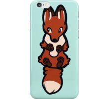 Clinging Fox iPhone Case/Skin