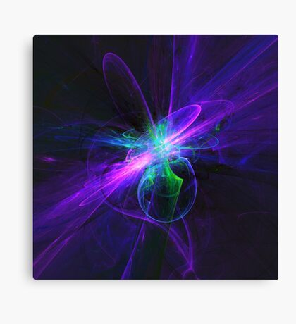 Beam Me Up, Scotty | Fractal Starscape Canvas Print