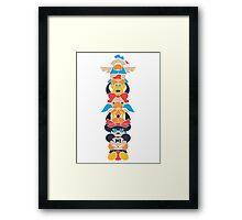 Disney Totem Framed Print