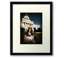 legislation Framed Print