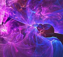 The Ether Of Spiritual Energy Among Beings in Love and Enlightenment | Fractal Starscape by SirDouglasFresh
