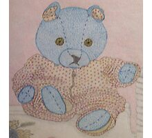 Teddy Blue Photographic Print