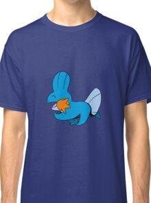 Cute Walking Mudkips Classic T-Shirt