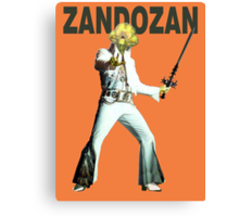 Zandozan Lives Canvas Print