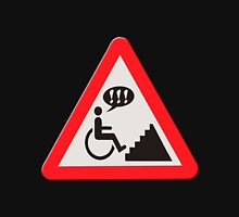 Annoying lack of disabled facilities road sign Hoodie