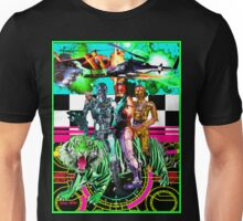 Robots Ride A Tiger Unisex T-Shirt
