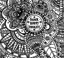 Think Happy Thoughts by LaurelMae