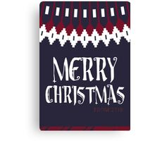 John's Christmas Jumper Canvas Print