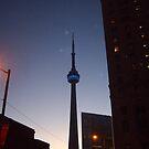Toronto at Night by bluekrypton