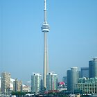 CN Tower Skyline by bluekrypton